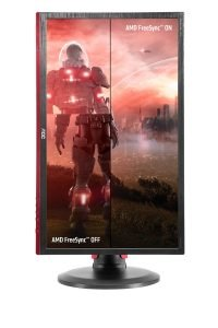 AOC G2460PF Free Sync Gaming LED Monitor–Vertical